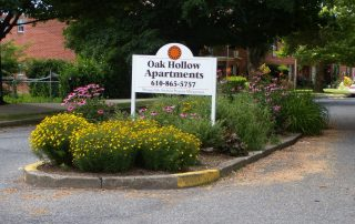 OH apartment sign